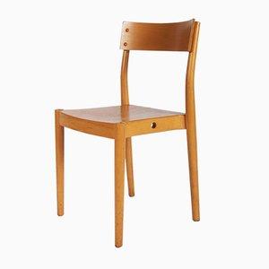 Chaise de Salle à Manger Portex Empilable par Peter Hvidt & Orla Mølgaard-Nielsen pour Fritz Hansen, 1960s