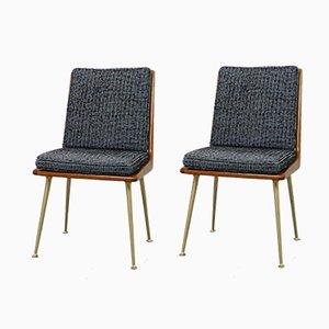 Deutsche Boomerang Stühle von Hans Mitzlaff für Eugen Schmidt, 1950er, 2er Set
