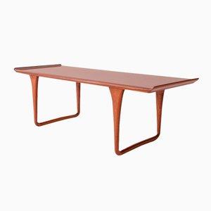 Table Basse Rectangulaire Vintage en Palissandre par Svante Skogh pour SMI