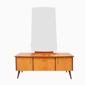 Mirror & Vanity Sideboard, 1950s