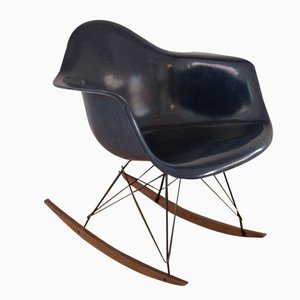 Vintage Shell Rocking Chair by Charles & Ray Eames for Herman Miller