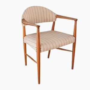 Chaise Vintage en Teck par Kurt Olsen
