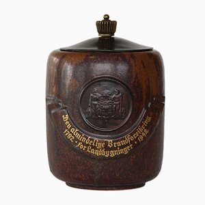 Dänischer Krug aus Keramik von Arne Bang, 1942