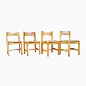 Finnish Dining Chairs by Ilmari Tapiovaara for Laukaan Puu, 1969, Set of 4