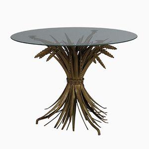 Petite Table Sculptée Épi, France, 1960s