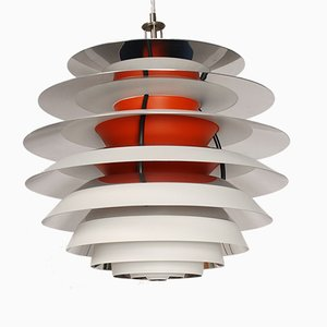 Danish PH Contrast Lamp by Poul Henningsen for Louis Poulsen, 1950s