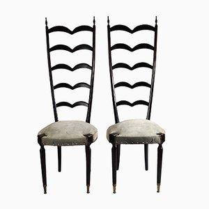 Sedie moderne di Paolo Buffa, anni '50, set di 2
