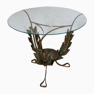 Mesa auxiliar Florentine Style vintage de Pier Luigi Colli