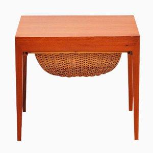 Table à Couture par Severin Hansen pour Haslev Denmark, 1955