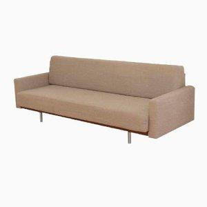 Sofa mit Stoffbezug und Armlehnen, 1960er