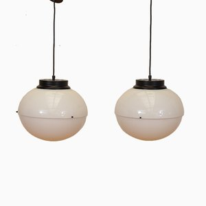Italian Model 4022 Ceiling Lights by Luigi Bandini Buti for Kartell, 1960s, Set of 2