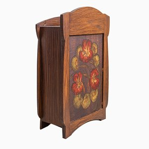 Small Art Nouveau Wall Cabinet, 1910