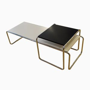 Laccio Tables by Marcel Breuer for Gavina, 1965, Set of 2