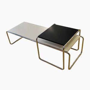 Laccio Tische von Marcel Breuer für Gavina, 1965, 2er Set