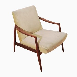 German Teak Armchair by Hartmut Lohmeyer for Wilkhahn, 1956