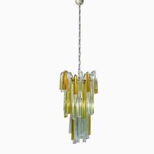 Lámpara de araña italiana de Venini, años 60