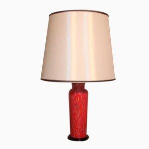 Italienische Tischlampe von Veart Murano, 1980