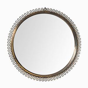 Brass Mirror by Josef Frank for Svenskt Tenn, 1950s