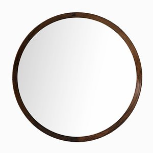 Miroir en Palissandre par Uno & Östen Kristiansson pour Luxus