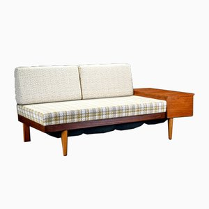 Teak Veneer Daybed by Ingmar Relling for Swane Møbler Norway, 1960s