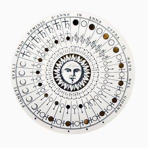 No. 5 Astronomici Plate by Piero Fornasetti, 1955