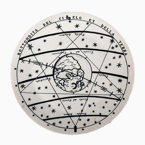 Piatto no. 7 Astronomici di Piero Fornasetti, 1955