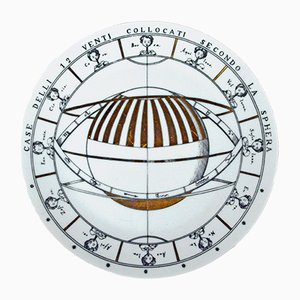 Vintage Astronomici Plate by Piero Fornasetti