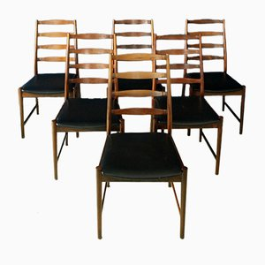 Rosewood Dining Chairs by Torbjørn Afdal for Vamo, Set of 6