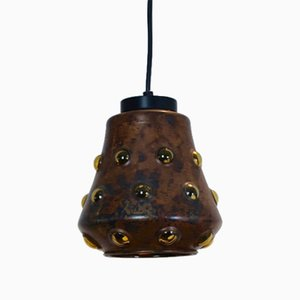 Copper and Glass Pendant by Nanny Still for Raak Amsterdam