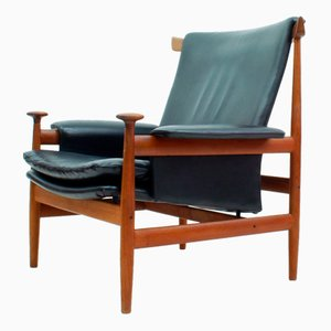 Model 152 Bwana Lounge Chair by Finn Juhl for France & Søn, 1962