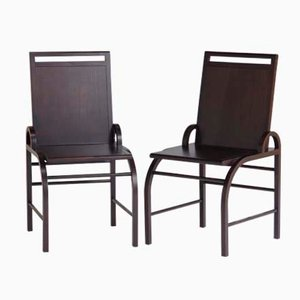 Liverpool Chairs by George Sowden for Memphis, 1986, Set of 2