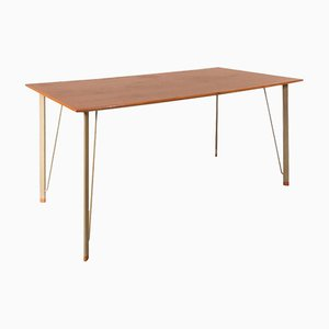 Danish Dining Table by Arne Jacobsen for Fritz Hansen, 1950s
