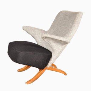 Niederländischer Penguin Sessel von Theo Ruth für Artifort, 1957