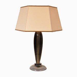 Lampe de Table par Flavio Poli pour Seguso, Italie, 1960s