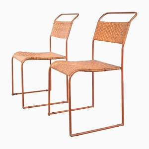 Sedie da pranzo prototipo Bauhaus, anni '30, set di 2