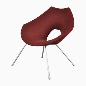 Italian Easy Chair by Augusto Bozzi for Saporiti Italy, 1950s