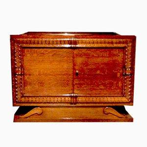 Mueble de cóctel de roble de Editions AV, años 40
