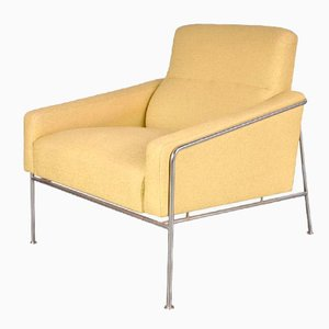 Danish Airport Chair by Arne Jacobsen for Fritz Hansen, 1960s