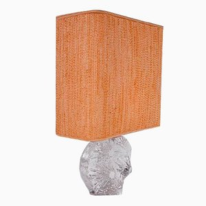 Lámpara de mesa francesa de Daum, años 50