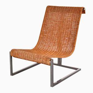 Modell K70 Stuhl aus Rattan von Studio K für Lyda Levi, 1970er