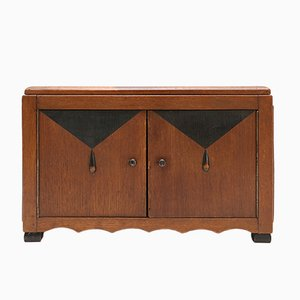 Amsterdam School Wooden Box, 1930s