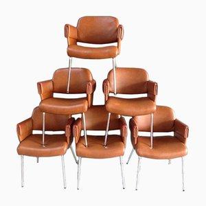 Mid-Century Leatherette Armchair, 1960s