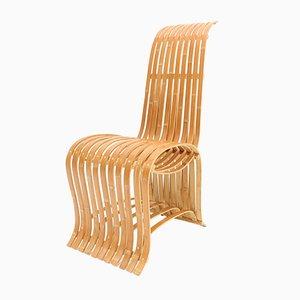 Silla vintage de bambú