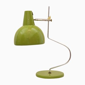 Mid-Century Green Table Lamp by Josef Hurka, 1960s