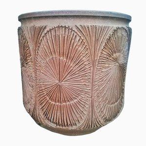 Vaso da piante grande di David Cressey per Earthgender Pottery