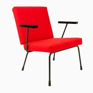 415/1401 Stuhl von Wim Rietveld für Gispen, 1950er