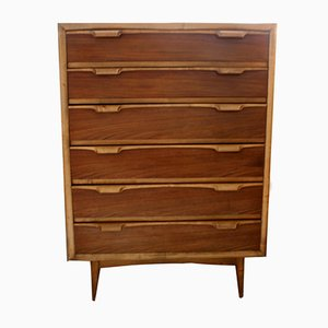 Scandinavian Teak Chest of Drawers