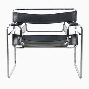 Wassily Armlehnstuhl von Marcel Breuer für Fasem, 1983