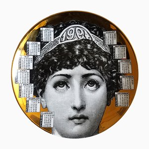 Year 1994 Calendar Plate by Barnaba Fornasetti