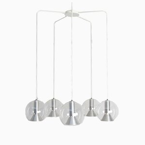 Glass Globe Chandelier from Raak